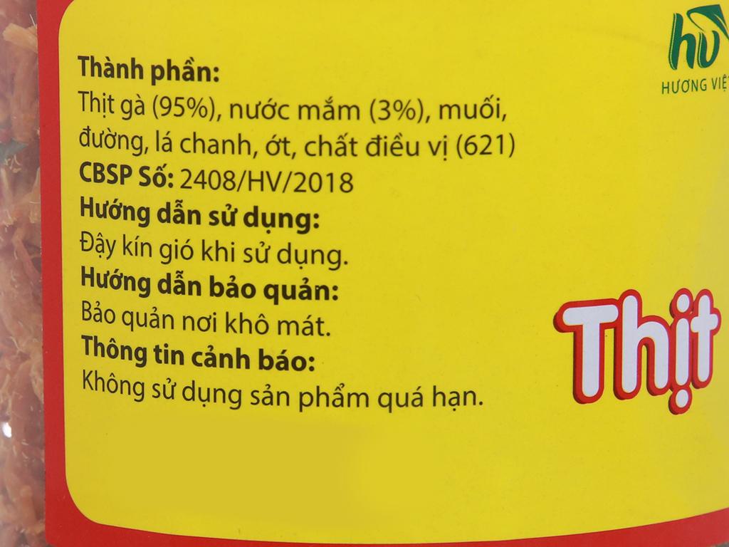 Thịt gà sấy giòn Hương Việt hộp 150g 5