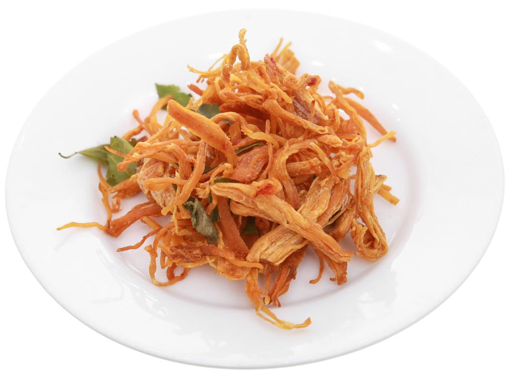 Thịt gà sấy giòn Hương Việt hộp 150g 4