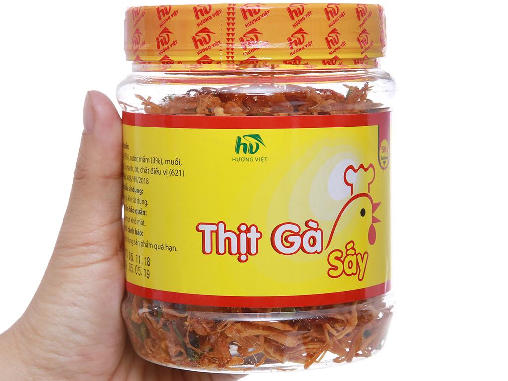 Thịt gà sấy giòn Hương Việt hộp 150g 3