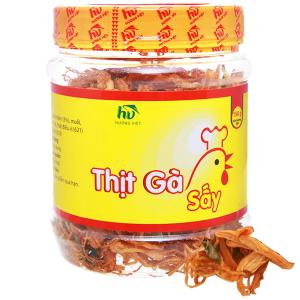 Thịt gà sấy giòn Hương Việt hộp 150g