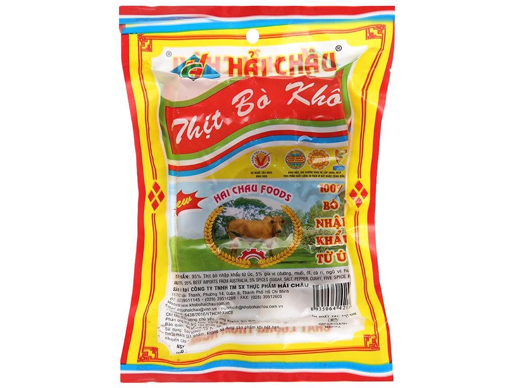 Thịt bò khô Hải Châu gói 24g 2