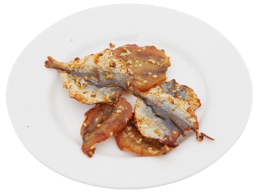 Cá chỉ vàng tẩm mè ăn liền Mailey gói 20g 4