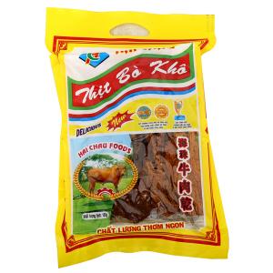 Thịt khô bò Hải Châu 100g