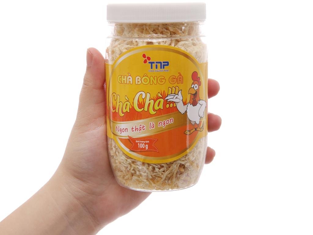 Chà bông gà Thảo Nguyên Phát hũ 100g 4