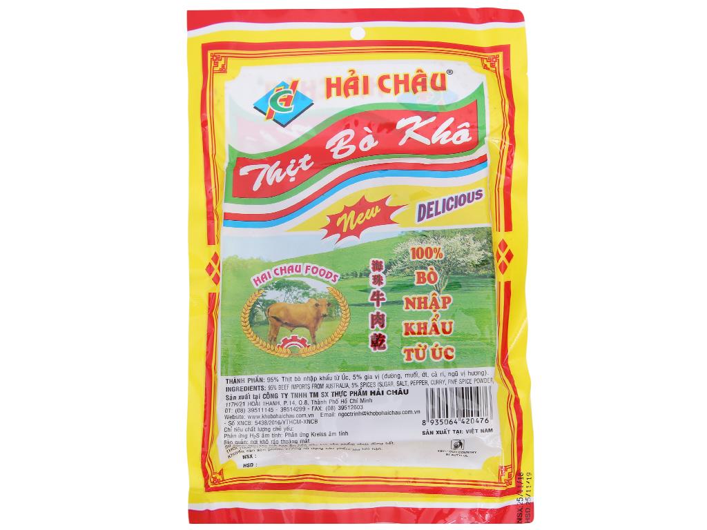 Thịt bò khô Hải Châu gói 50g 2