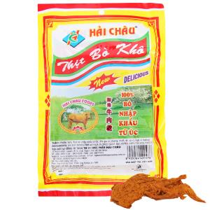 Thịt bò khô Hải Châu gói 50g