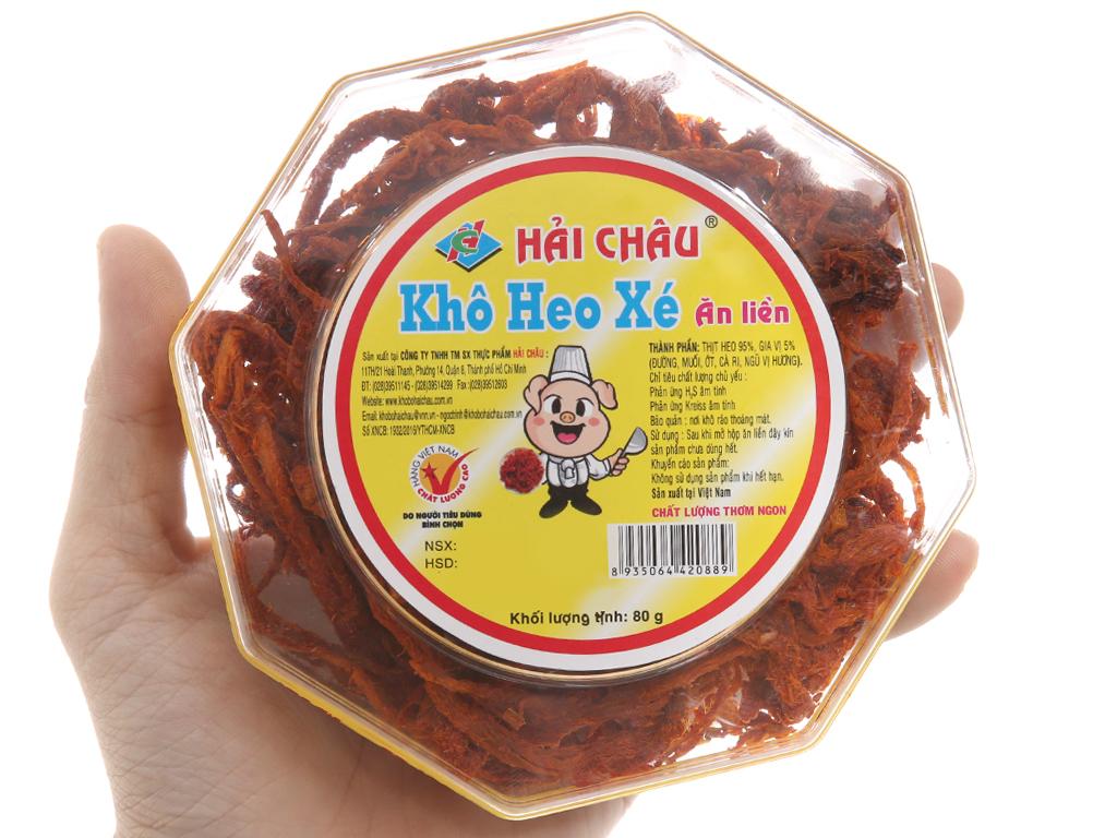Khô heo xé ăn liền Hải Châu hộp 80g 3