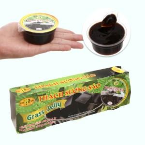 Thạch sương sáo Grass Jelly 3K hộp 240g (3 hộp x 80g)