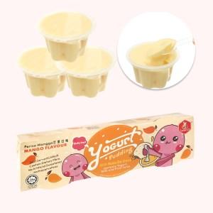 Thạch pudding yogurt vị xoài Swecco hộp 240g (3 hộp x 80g)