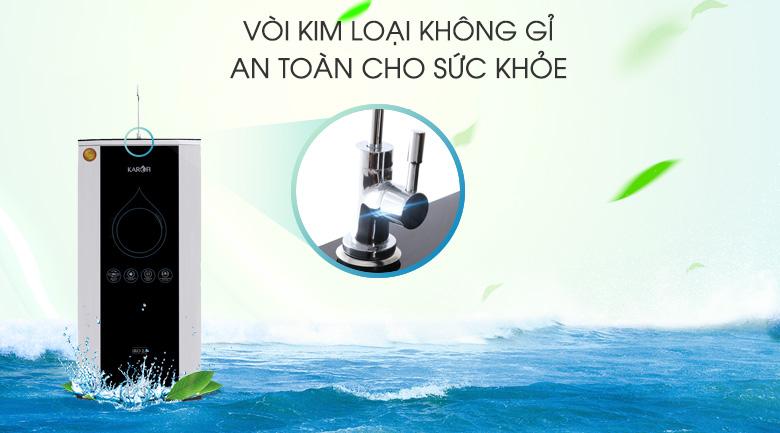 Vòi lấy nước - Máy lọc nước thông minh Karofi K9IQ-2.0 9 lõi