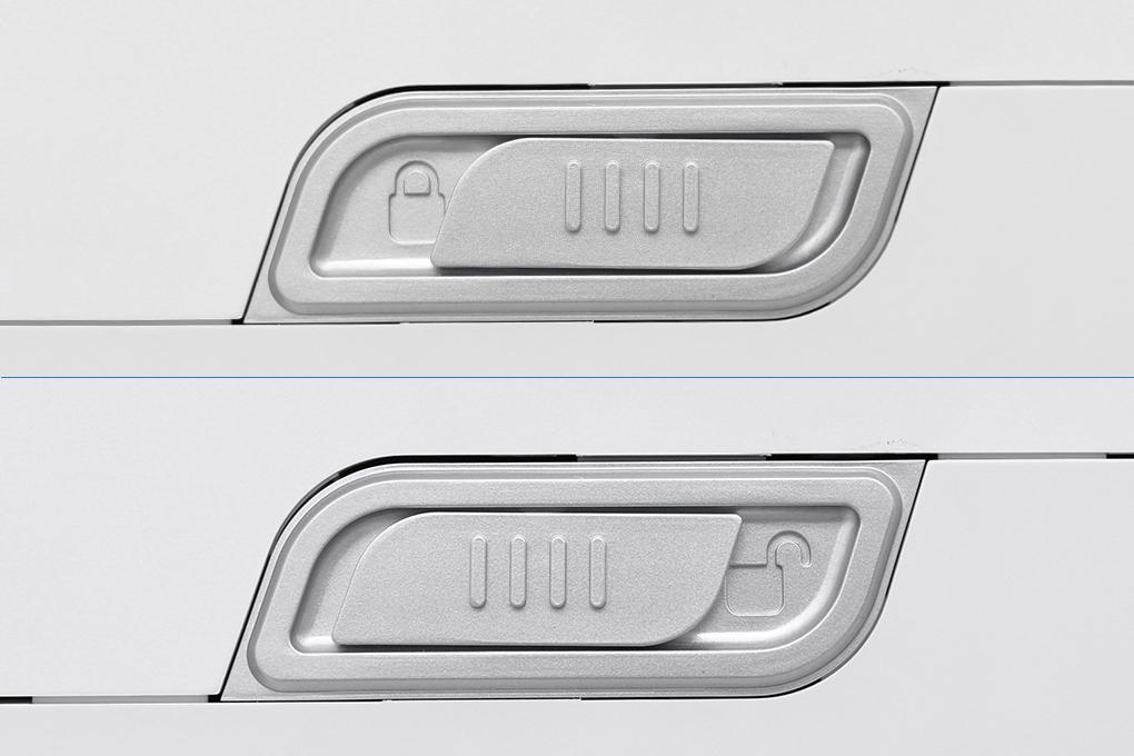 Đóng/mở vỏ máy dễ dàng với nút khóa - Máy lọc nước AOSMITH AR75-A-S-2