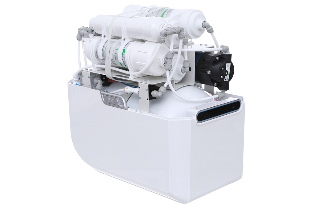 Có công suất lọc nước 11.8 lít/giờ, dung tích bình chứa nước tới 9 lít - Máy lọc nước AOSMITH AR75-A-S-2