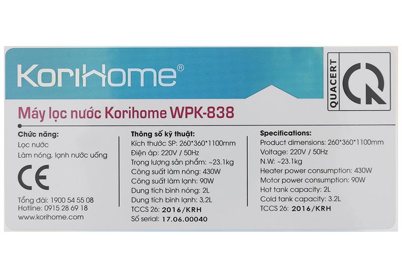 korihome-wpk-838-4
