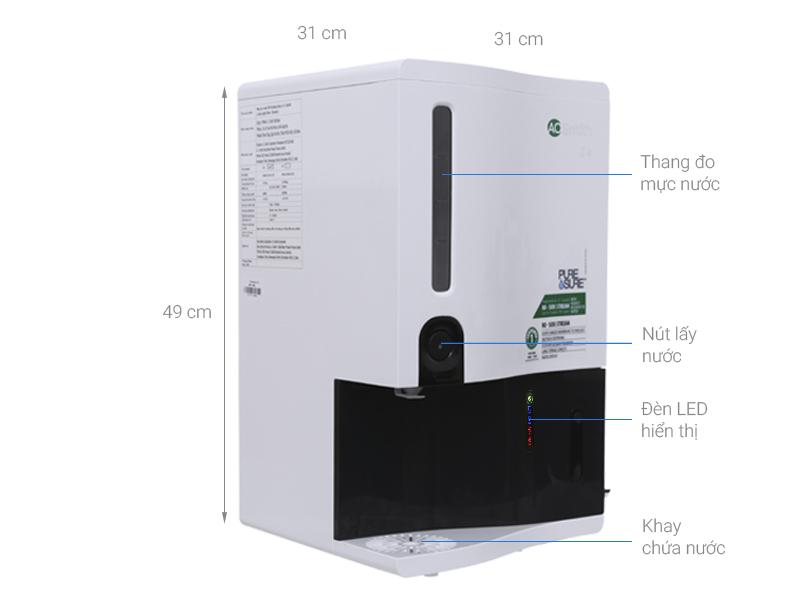 Thông số kỹ thuật Máy lọc nước RO AOSmith Z4