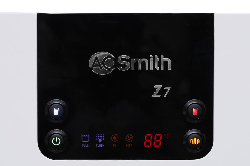 Bảng điều khiển - Máy lọc nước RO AOSmith Z7