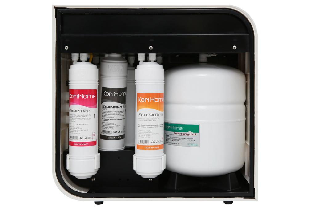 Máy lọc nước RO Korihome WPK-606-LT - Hệ thống 6 lõi lọc vô trùng tạo ra nguồn nước sạch tinh khiết