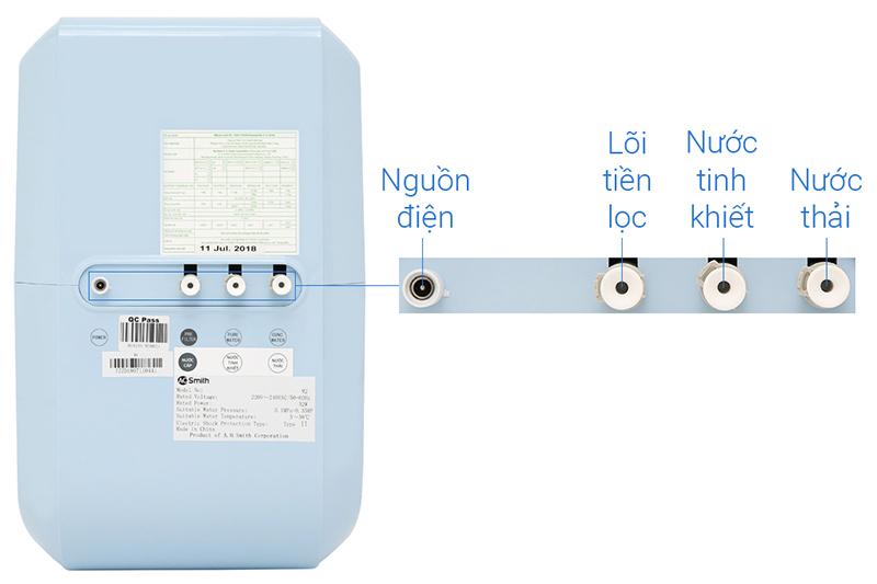 Dễ sử dụng cho hộ gia đình - Máy lọc nước AOSMITH M2