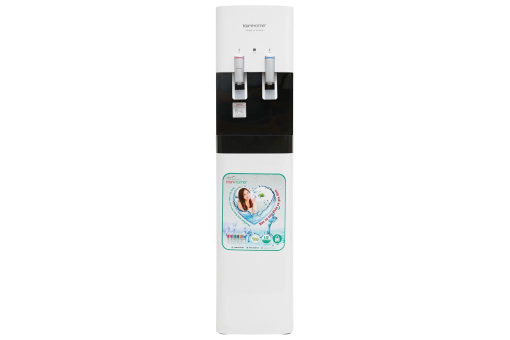 Tích hợp thêm chức năng làm nước nóng, nước lạnh, thiết kế hiện đại - Máy lọc nước RO nóng lạnh KoriHome WPK-818-S 6 lõi