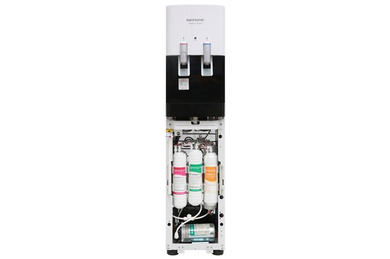 Lõi lọc lớn đến 10 inch giúp tăng tốc độ lọc nước tối đa, công suất lọc đạt tới 15 lít/h - Máy lọc nước RO nóng lạnh KoriHome WPK-818-S 6 lõi