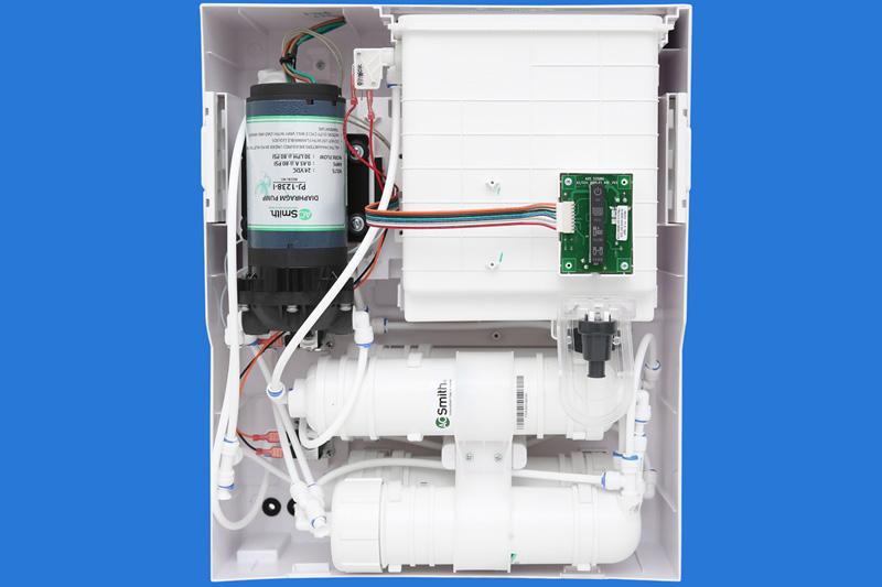 4 cấp lọc lọc hiệu quả - Máy lọc nước RO AOSmith C2 4 lõi