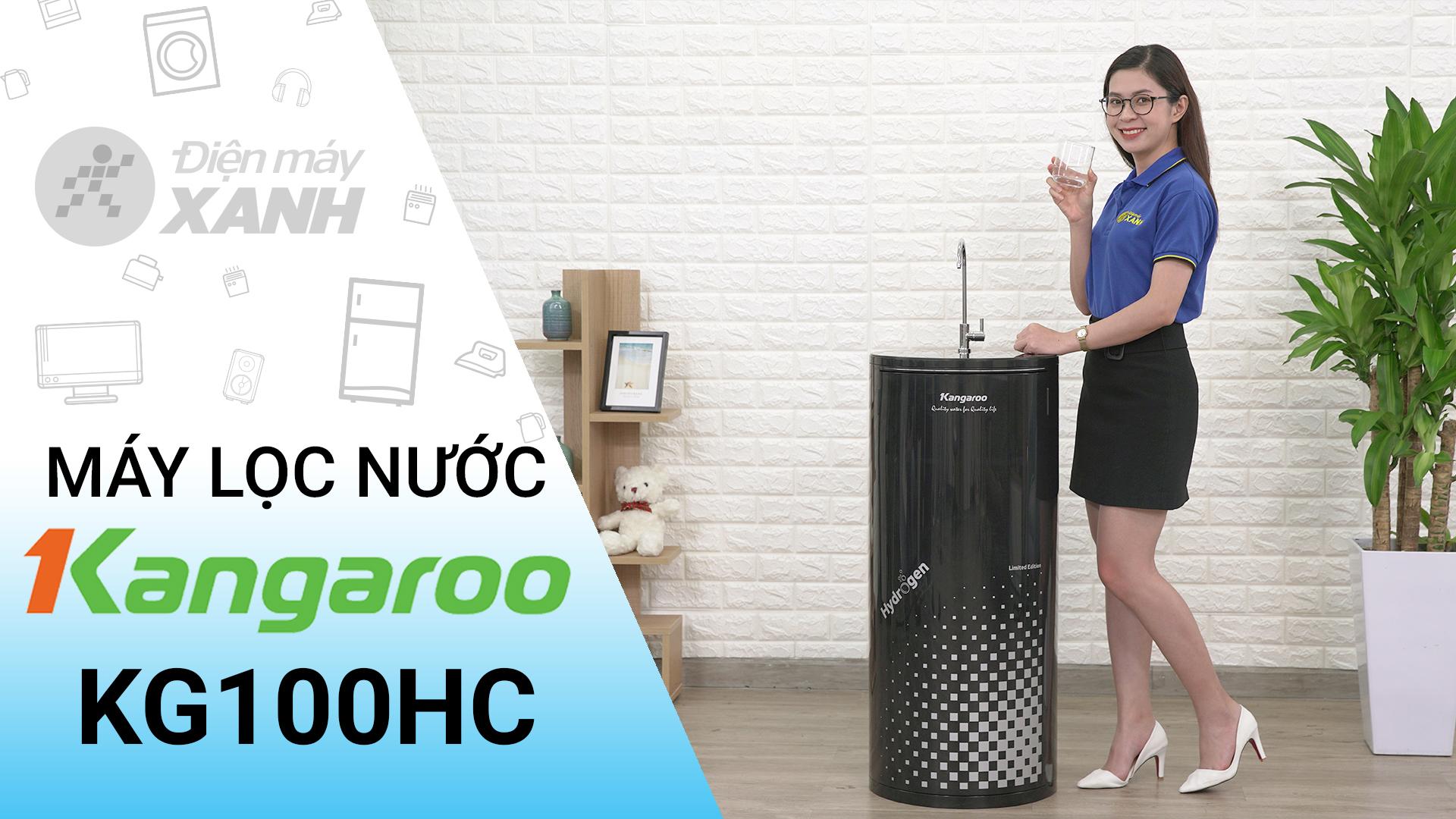 Máy lọc nước R.O Hydrogen Kangaroo KG100HC 10 lõi