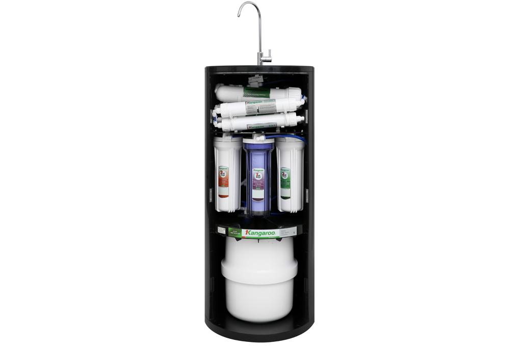 Trang bị 10 lõi lọc cho nước lọc trong lành, tinh khiết - Máy lọc nước Kangaroo KG100HC 10 lõi