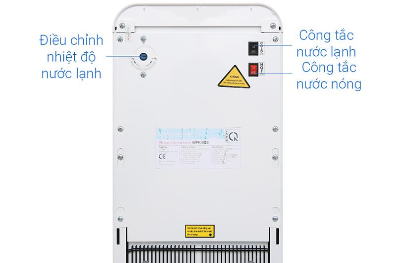 Dễ điều chỉnh - Máy lọc nước nóng lạnh RO Korihome WPK-903