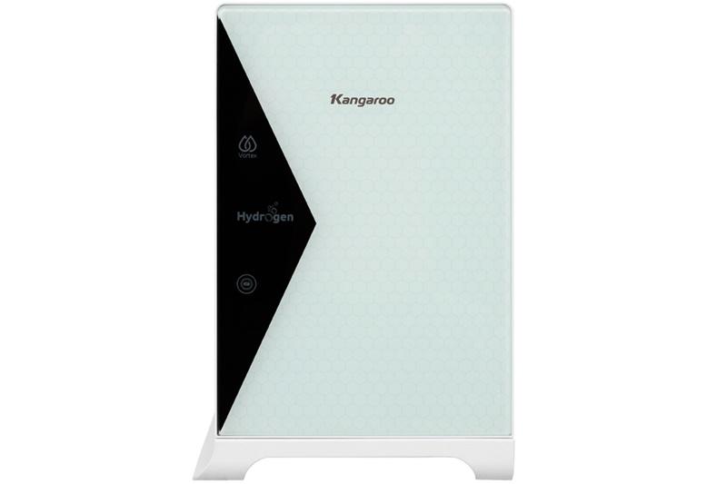 Thiết kế đẹp mắt, kích cỡ nhỏ gọn - Máy lọc nước RO Kangaroo KG100HU 5 lõi