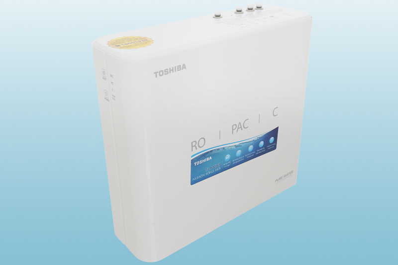 Thiết kế gọn đẹp tiện lắp đặt - Máy lọc nước RO Toshiba TWP-N1686UV(W1)