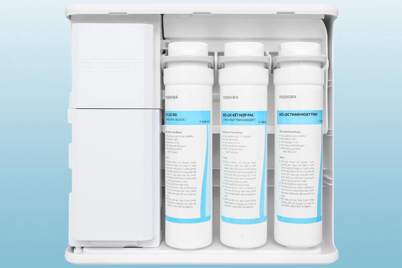 3 cấp lọc cung cấp nước sạch - Máy lọc nước RO Toshiba TWP-N1686UV(W1)