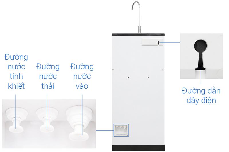 Hệ thống bơm hút 2 chiều - Máy lọc nước RO Daikiosan DXW-33007H