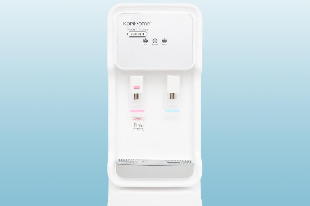 2 vòi nước nóng lạnh dễ phân biệt - Máy lọc nước Korihome WPK-915