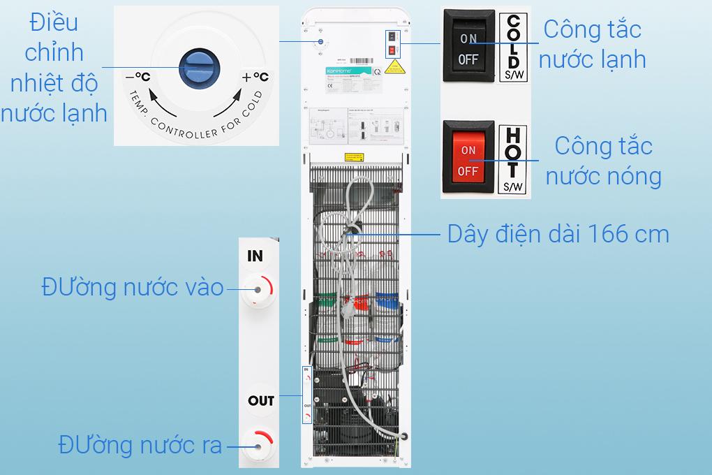Công tắc nước nóng, nước lạnh - Máy lọc nước Korihome WPK-915