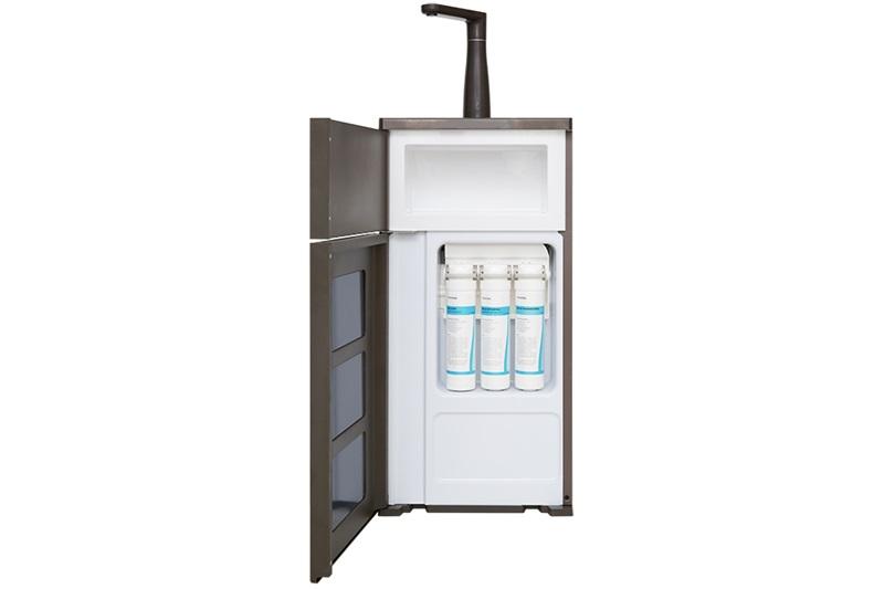 Lọc nước trong sạch, không lẫn tạp chất, tốt cho sức khỏe với 3 cấp lọc - Máy lọc nước RO Toshiba TWP-N1843SV 3 lõi