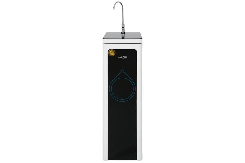 Thiết kế dạng tủ đứng sang trọng, vỏ sáng bóng - Máy lọc nước RO Karofi N7RO 7 lõi