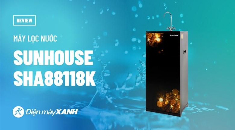 Máy lọc nước RO Sunhouse SHA88118K 10 lõi