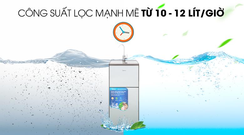 Công suất lọc - Máy lọc nước RO Midea MWP-S0920MR 9 lõi