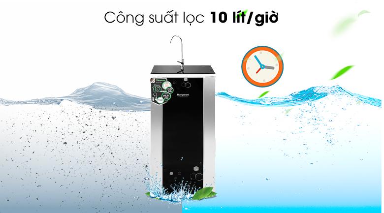 Công suất - Máy lọc nước RO Kangaroo KG3500AVTU 10 lõi