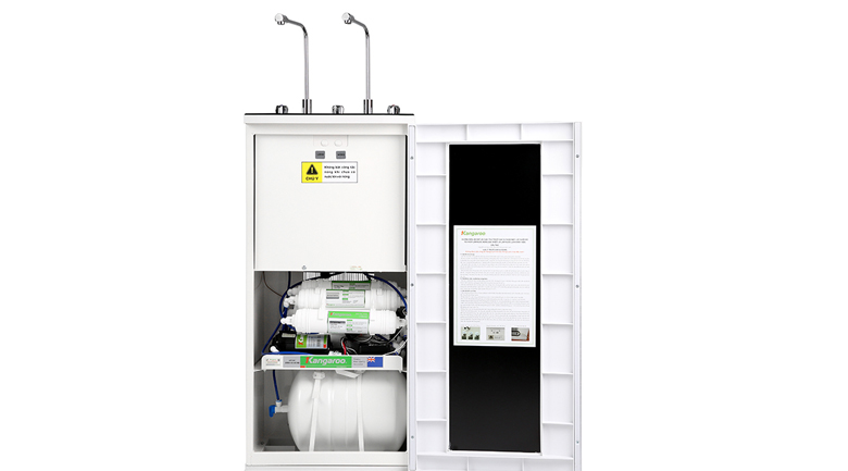Hệ thống 10 lõi lọc - Máy lọc nước RO nóng lạnh Kangaroo KG10A4VTU 10 lõi