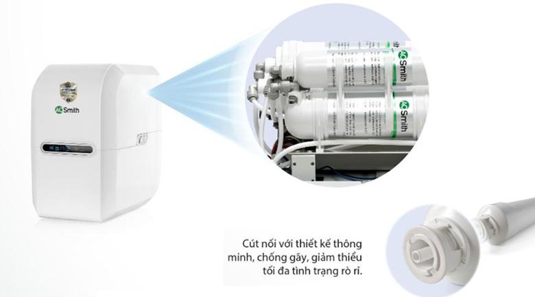 Thiết kế tiện dụng - Máy lọc nước RO Aosmith E2 5 lõi