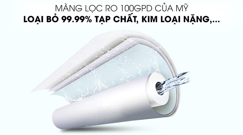 Màng lọc RO loại bỏ 99,99% vi khuẩn - Máy lọc nước RO Karofi B930 9 lõi