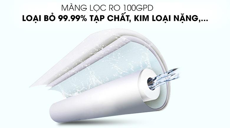 Màng RO 100GPD - Máy lọc nước RO điện phân Kangaroo KG100ES 7 lõi