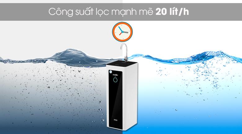 Máy lọc nước RO Karofi Optimus Pro O-i439 9 lõi KG - Hoạt động mạnh mẽ với công suất lọc 20 lít/h