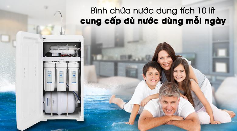 Cấp nước sạch đủ dùng cho gia đình - Máy lọc nước RO Philips ADD8960 8 lõi