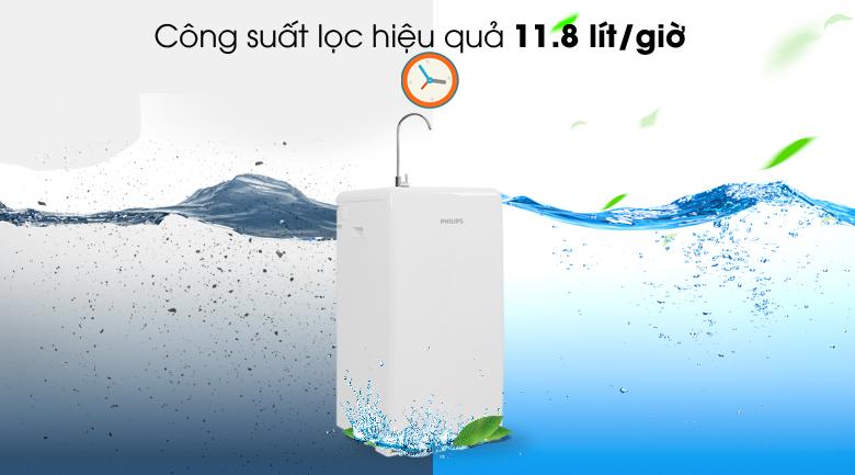 Lọc hiệu quả - Máy lọc nước RO Philips ADD8960 8 lõi