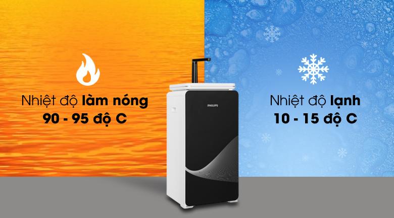 Cung cấp nước nóng lạnh - Máy lọc nước RO nóng lạnh Philips ADD8980 6 lõi (Imei)