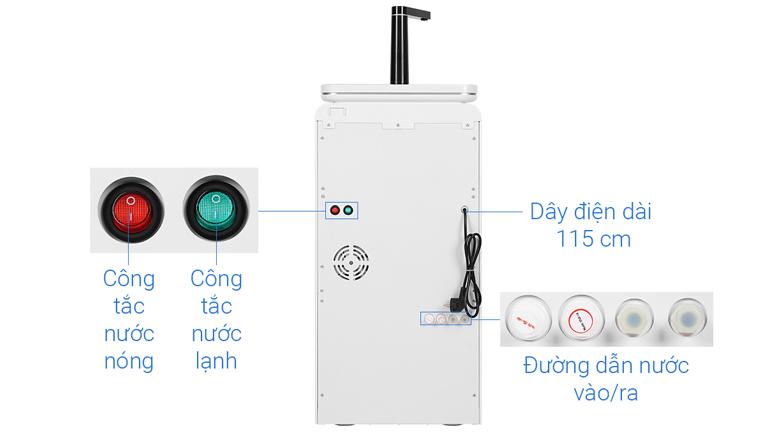 Công tắc nóng lạnh - Máy lọc nước RO nóng lạnh Philips ADD8980 6 lõi (Imei)