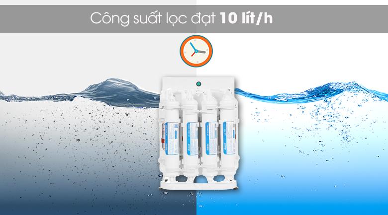 Máy lọc nước RO Daikiosan DXW-44009D - Hoạt động mạnh mẽ với công suất lọc 10 lít/h