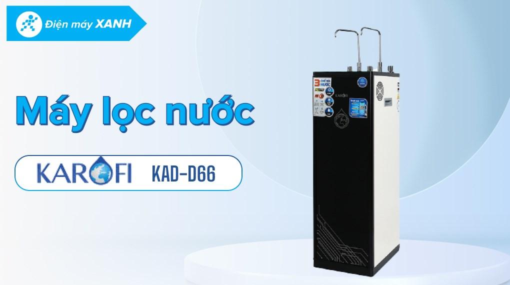 Máy lọc nước RO nóng lạnh Karofi KAD-D66 11 lõi
