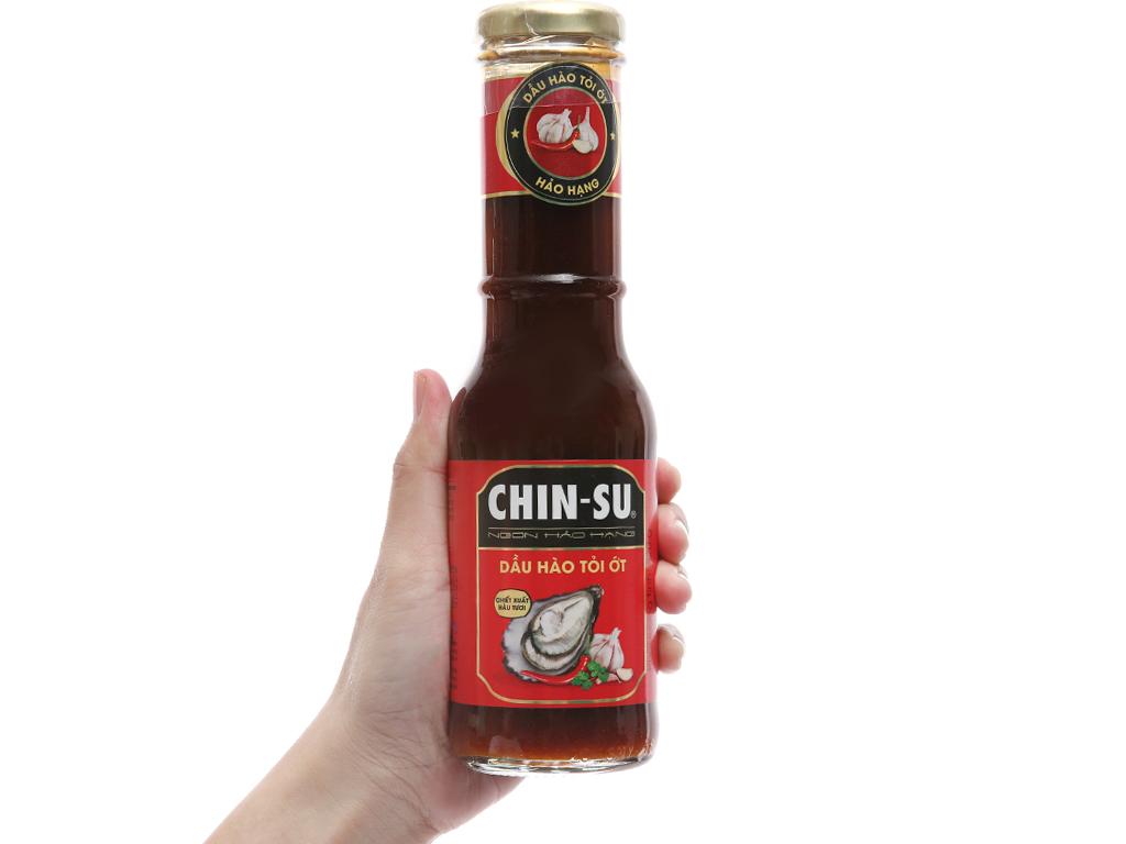 Dầu hào tỏi ớt Chinsu chai 320g 3